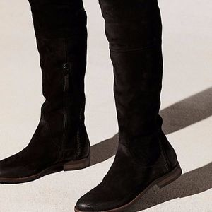 Miz Mooz & Free People Tracey Bently Tall Boot Blk
